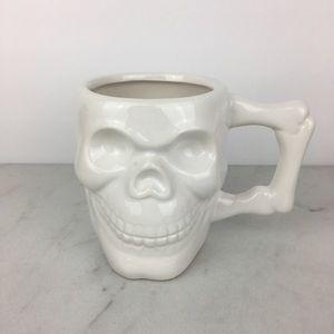 Halloween Skull Mug Cup New